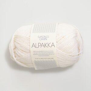 Sandnes Alpakka 1001 Hvid