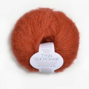 Tynn Silk Mohair 3835 Terracotta