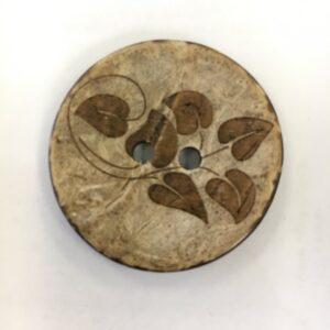 Kokosknap 34 mm