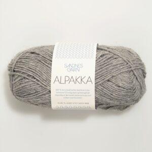 Sandnes Alpakka 1042 - Gråmeleret