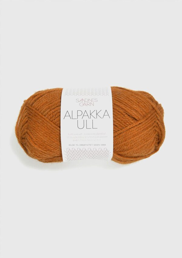 Sandnes Alpakka Ull 2355 - Okker