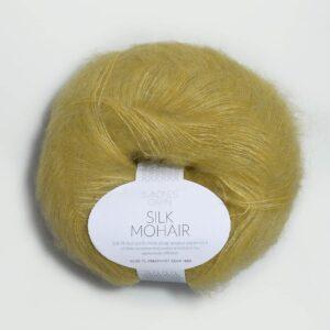 Garn Silk Mohair 2024 Gulgrøn