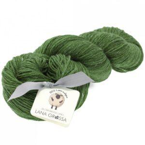 Slow Wool Lino fra Lana Grossa i grøn