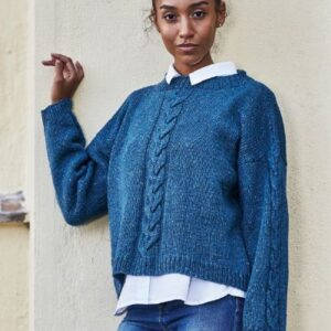896149 - Sweater med snoninger
