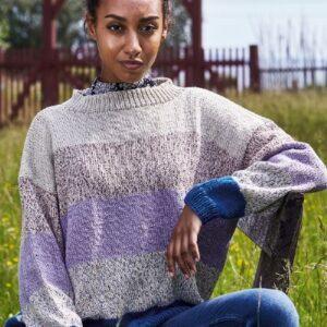 899213 - Viola Sweater med striber + Klara