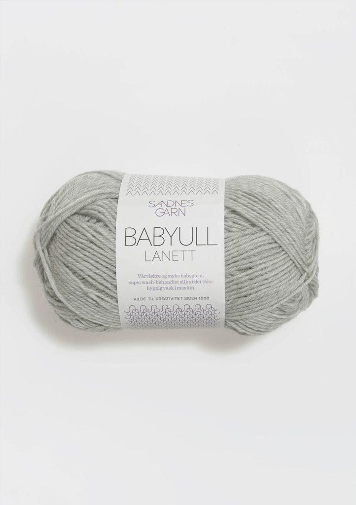 Babyull Lanett 1022 - Lys grå