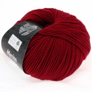 Lana Grossa Cool Wool 514 - Mørkerød