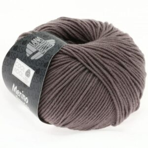 Lana Grossa Cool Wool 558 - Gråbrun