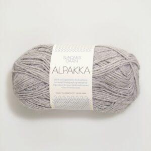 Sandnes Alpakka 1032 - Lys Gråmeleret