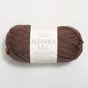 Sandnes Alpakka Ull 3161 - Mellembrun