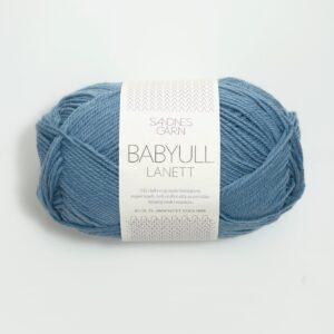 Garn Sandnes Babyull Lanett 6033 - Mellemblå