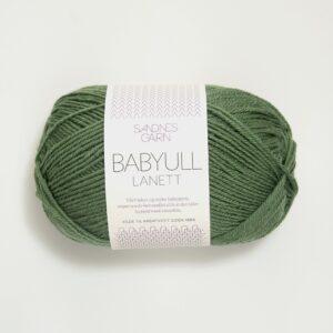 Garn Babyull Lanett 8543 - Grøn