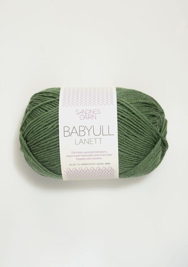 Babyull Lanett 8543 - Grøn