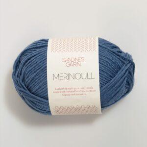 Sandnes Merinoull 6052 - Jeansblå