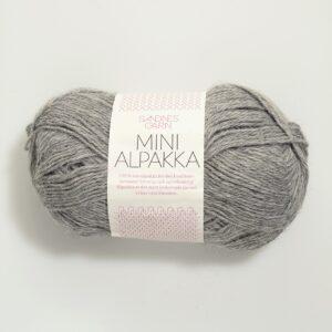 Sandnes Mini Alpakka 1042 - Gråmeleret