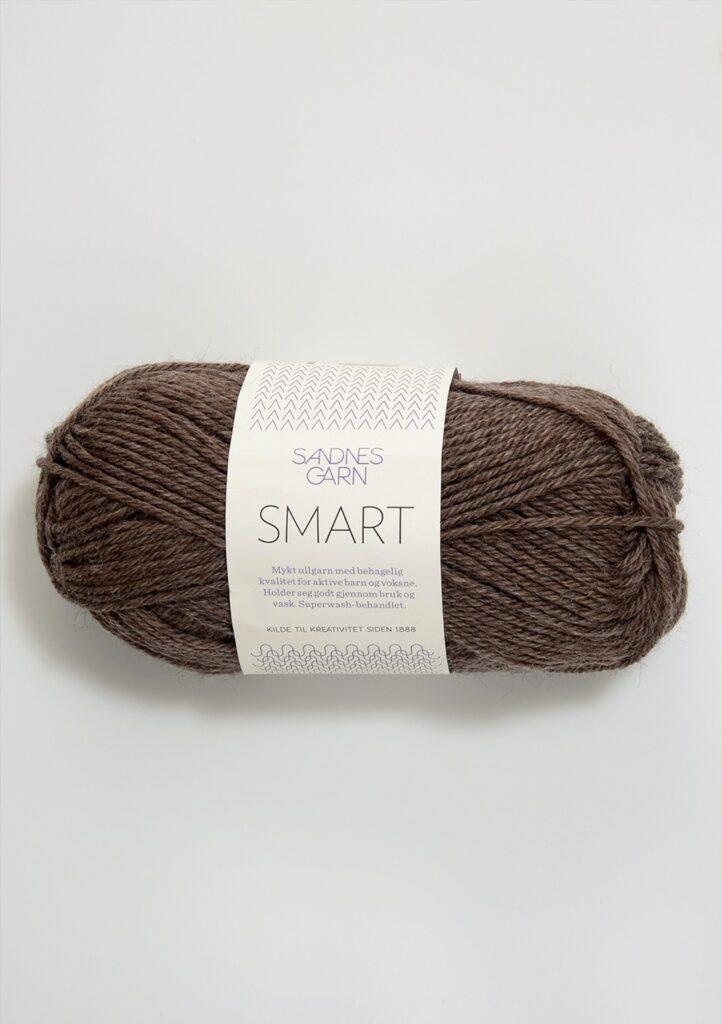Sandnes Smart 2652 - Mellembrun meleret