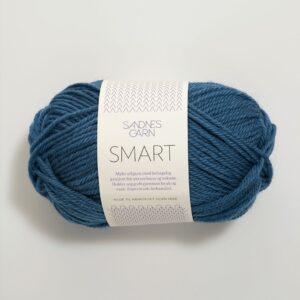 Garn Smart 6355 Flyblå