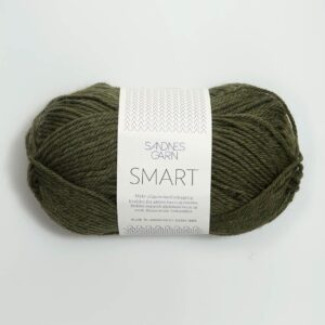 Sandnes Smart 9572 - Mørk Grønmeleret