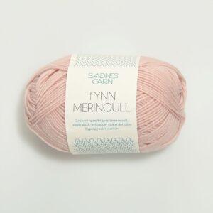 Garn Tynn Merinoull 3511 - Pudderrosa