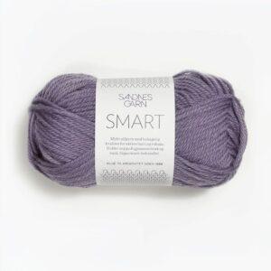 Sandnes Smart 5052 - Støvet Lilla