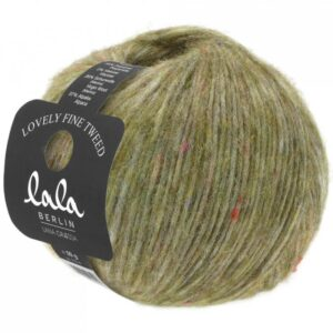 Lala Berlin Lovely Fine Tweed 106 - Oliven