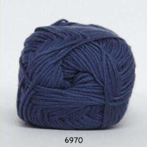 Garn Blend Bamboo 6970 - Mørkeblå