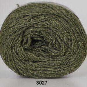 Hjertegarn Wool Silk 3027 - Mørk Grøn