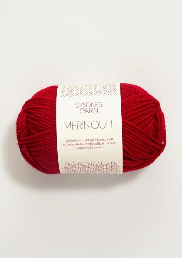 Merinoull 4219 - Rød