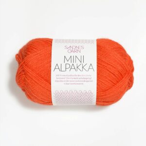 Sandnes Mini Alpakka 3509 - Orange