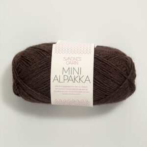 Sandnes Mini Alpakka 4071 - Mørk Brun