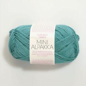 Sandnes Mini Alpakka 7024 - Søgrøn