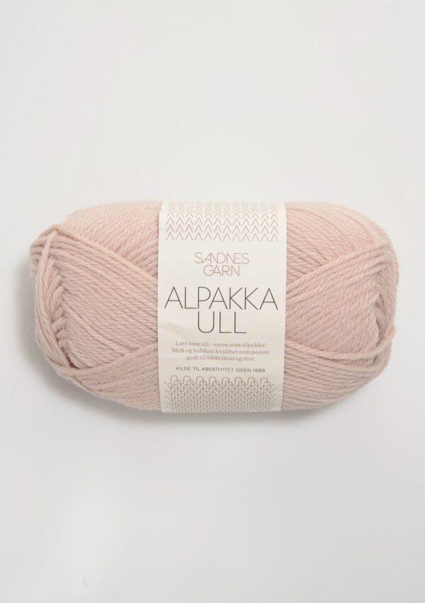 Alpakka Ull 3511 - Pudderrosa