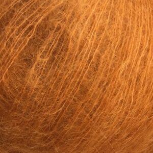 Mohairgarn i orange