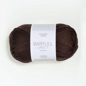 Garn Sandnes Babyull Lanett 2571 - Mørk Brun