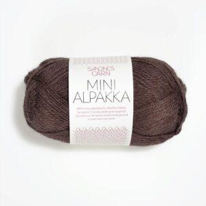 Garn Mini Alpakka 3571 Brun