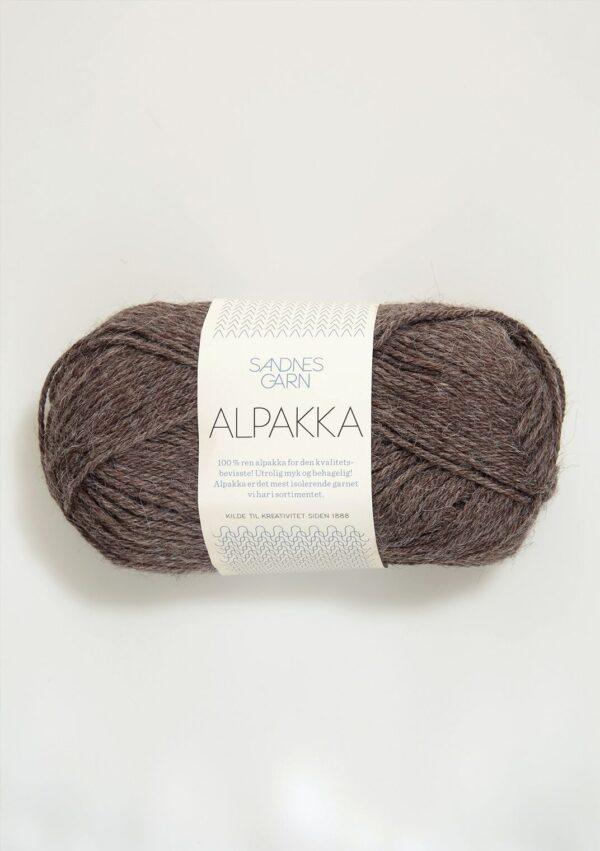 Sandnes Alpakka 2652 - Mellembrun meleret