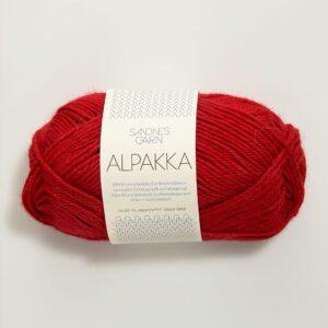 Alpakka 4219 - Rød