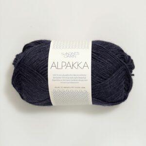 Sandnes Alpakka 6081 - Dyb blå