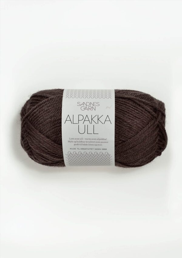 Sandnes Alpakka Ull 3571 - Brun