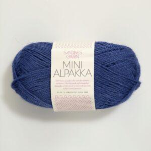 Garn Mini Alpakka 5563 Blålilla