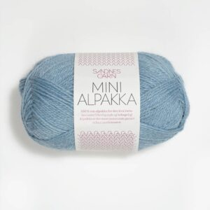 Sandnes Mini Alpakka 6013 - Himmelblå
