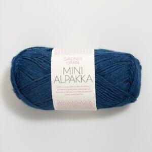 Garn Mini Alpakka 6063 Inkblå