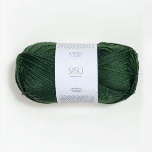 Garn Sandnes Sisu 8063 - Mørk Grøn