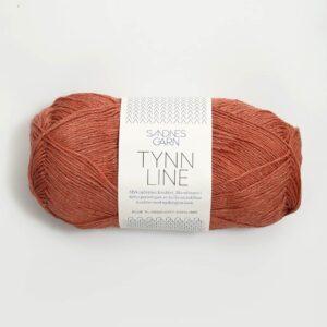 Garn Sandnes Tynn Line 4234 - Terracotta