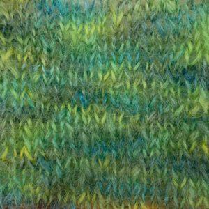 Mohairgarn Bella Color by Permin 883151 Grøn