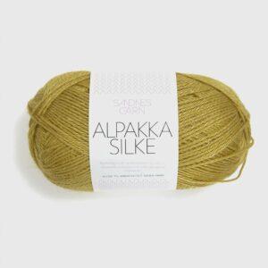 Alpakka Silk 2024 - Gulgrøn