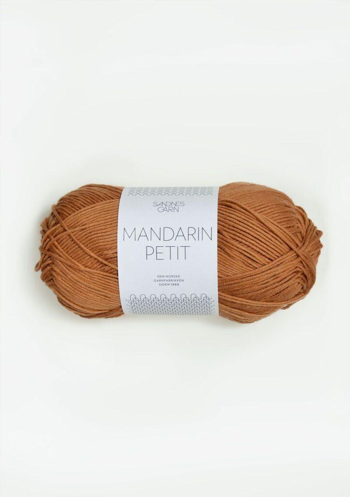 Sandnes Mandarin Petit 2534 - Gyldenbrun