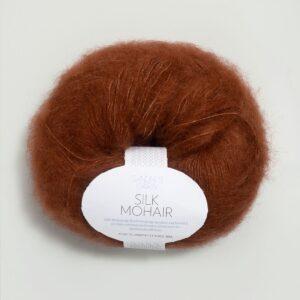 Garn Silk Mohair 3355 Rust