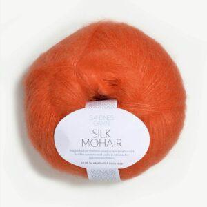 Garn Silk Mohair 3509 Orange