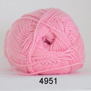 Lana Cotton 212 farve 4951 - Lyserød